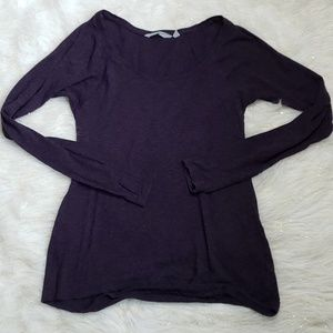 Athleta | Women Small Long Sleeve Scoop Neck Top